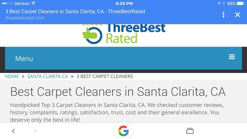 Voted Top 3 Best Carpet Cleaners In Santa Clarita Yelp