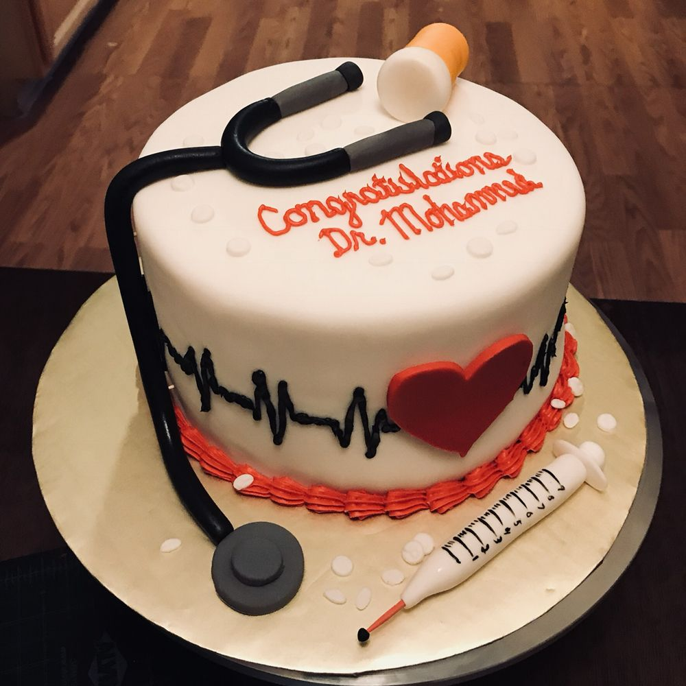 Medical School Graduate Cake Yelp