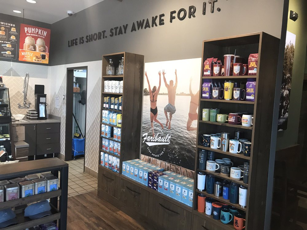 Caribou Coffee: 2280 Grant St NW, Faribault, MN