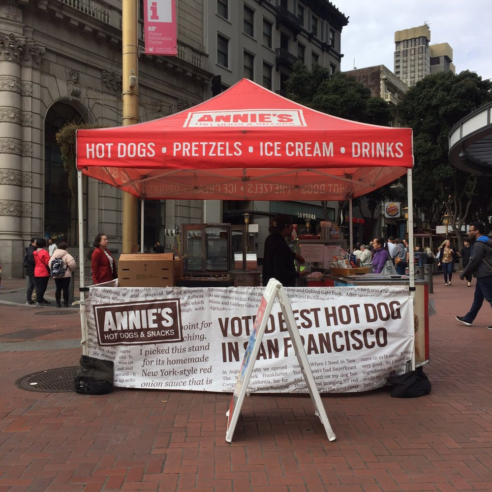 Annie's Hot Dog Cart