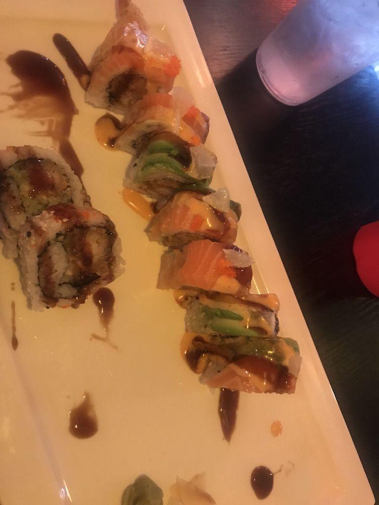 Food from Osaka Japanese Restaurant