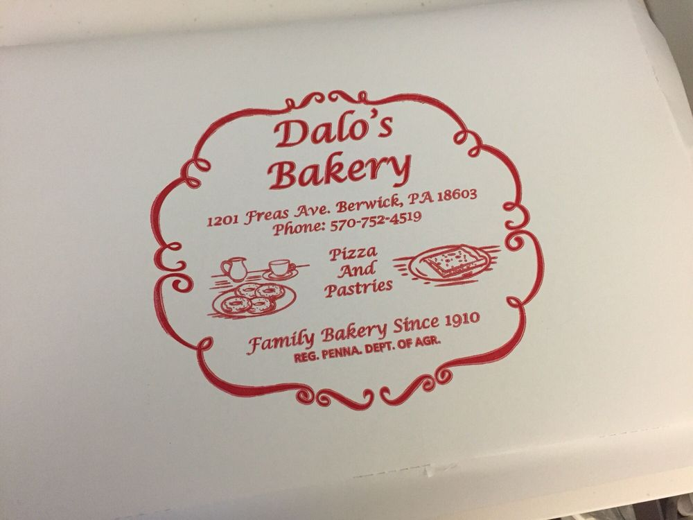 Dalo's Bakery: 1201 Freas Ave, Berwick, PA