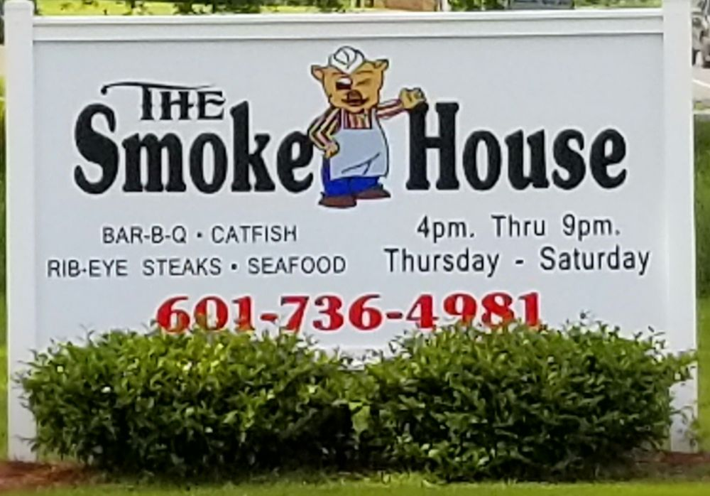 The Smokehouse: 411 New Hope Rd, Sandy Hook, MS