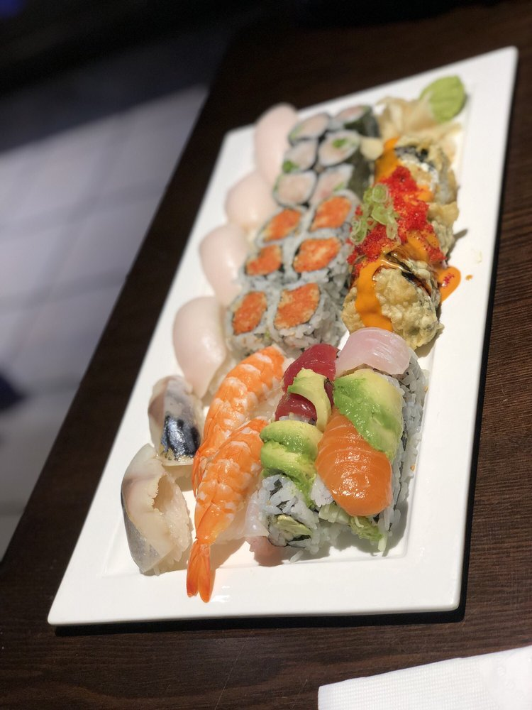 Food from Hokkai Sushi