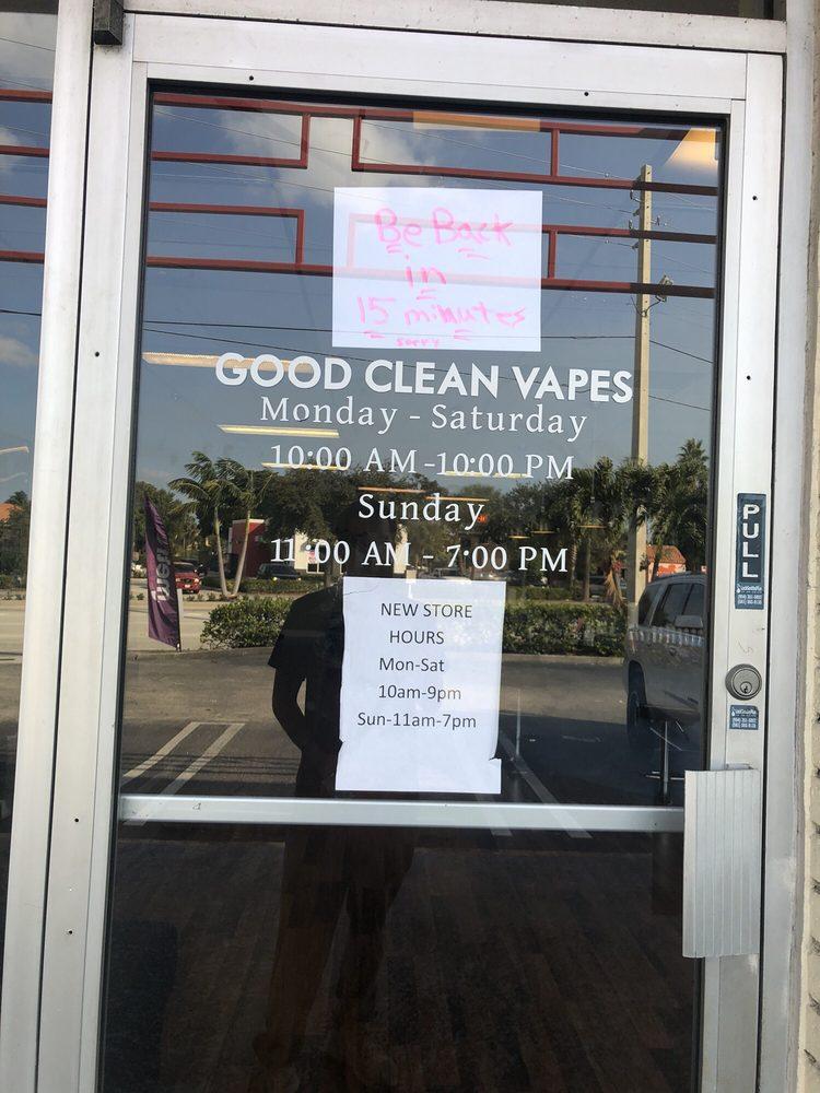 Good Clean Vapes: 962 Northlake Blvd, Lake Park, FL