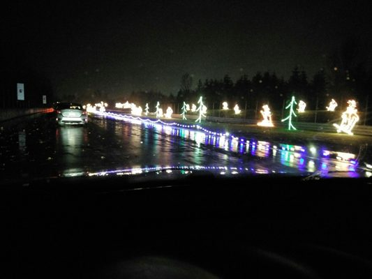 Awesome Picture Of Portland International Raceway Christmas Lights  - Portland International Raceway Christmas Lights