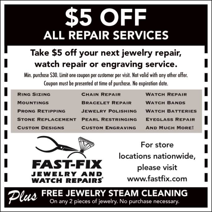 Fast Fix Jewelry And Watch Repairs 11 Photos 30 Reviews