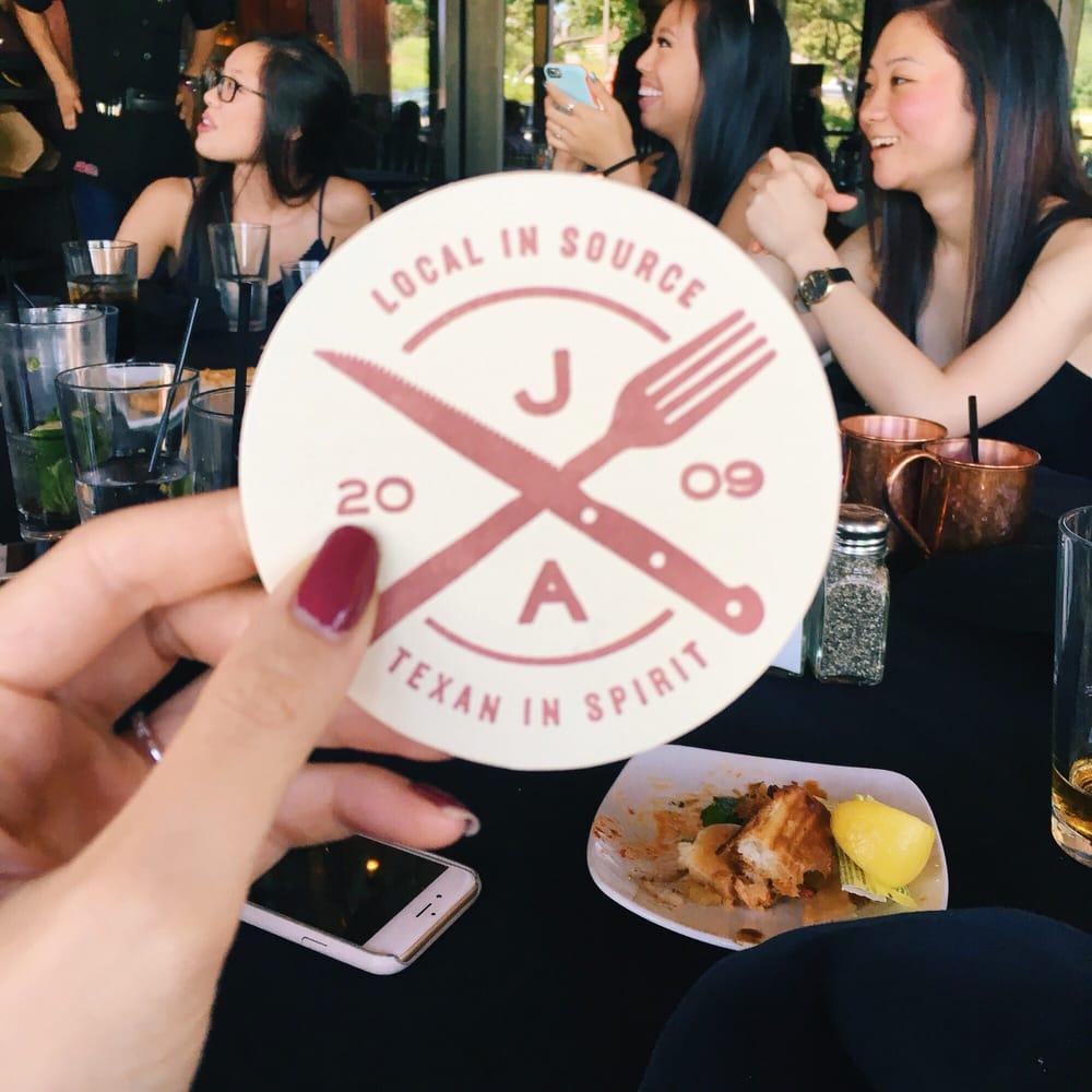 Jack Allen Restaurant Menu