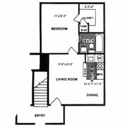 Oversized Walk In Photo Of Vantage Apartments   Virginia Beach, VA, United  States. 1 Bedroom Floorplan ...