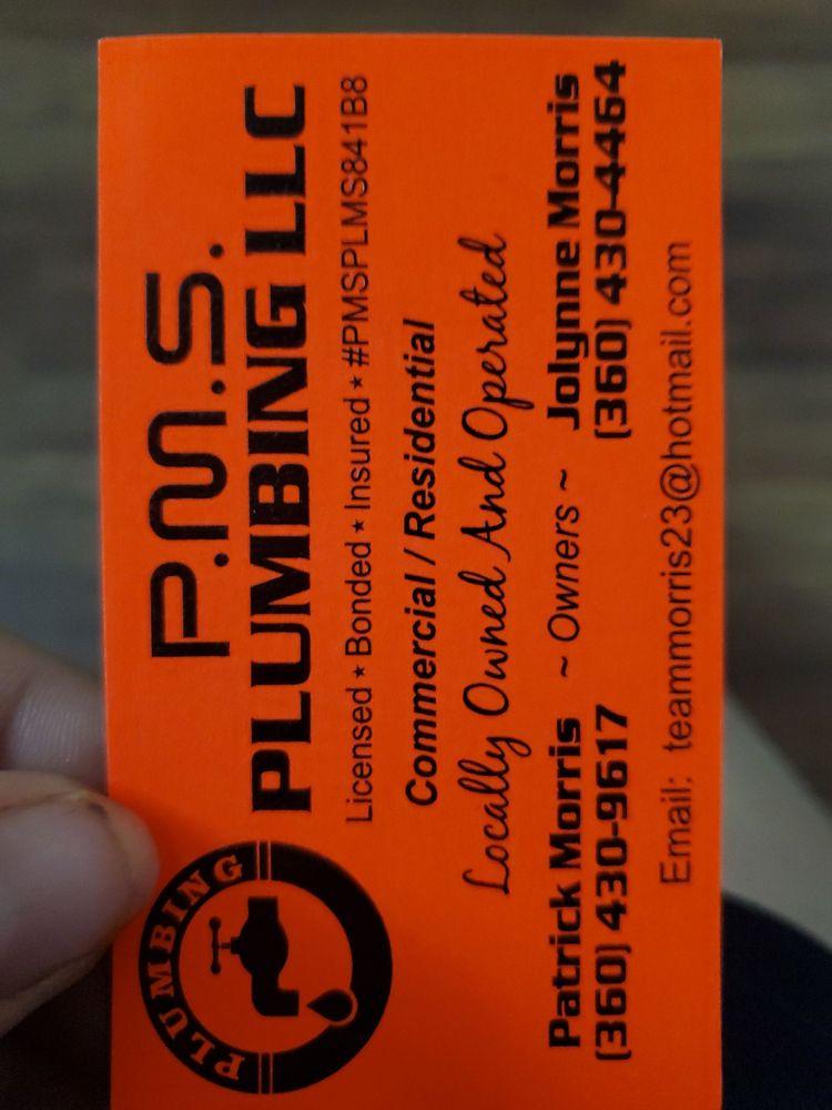 P. M. S. Plumbing: Kelso, WA