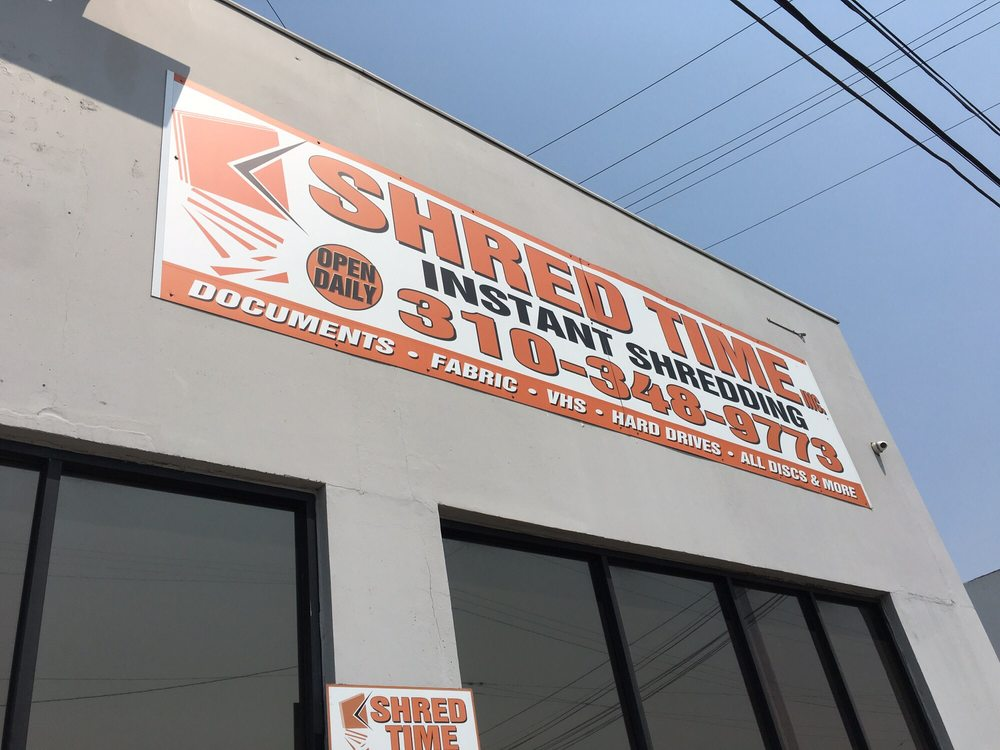 Shred Time: 5451 W 104th St, Los Angeles, CA