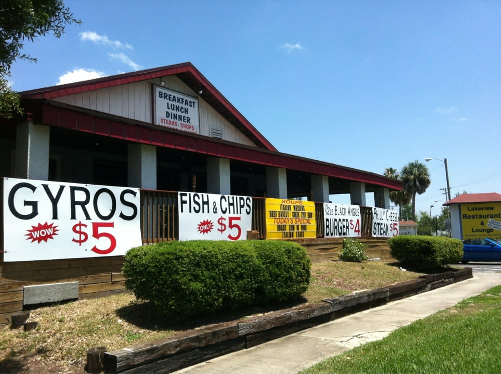 The Lake View Restaurants: 2710 Kenilworth Blvd, Sebring, FL