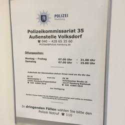 Polizeikommissariat 35 Außenstelle Volksdorf Polizei Farmsener