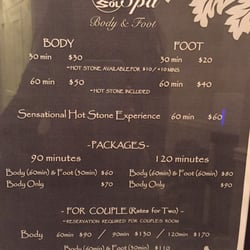 Sol Spa Body And Foot