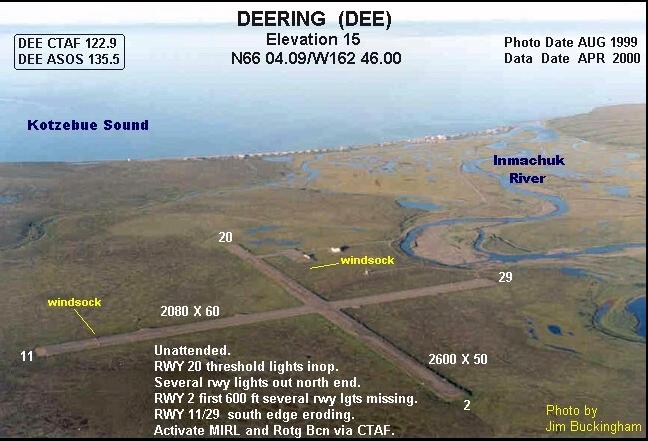 Deering Airport DRG: Deering, AK