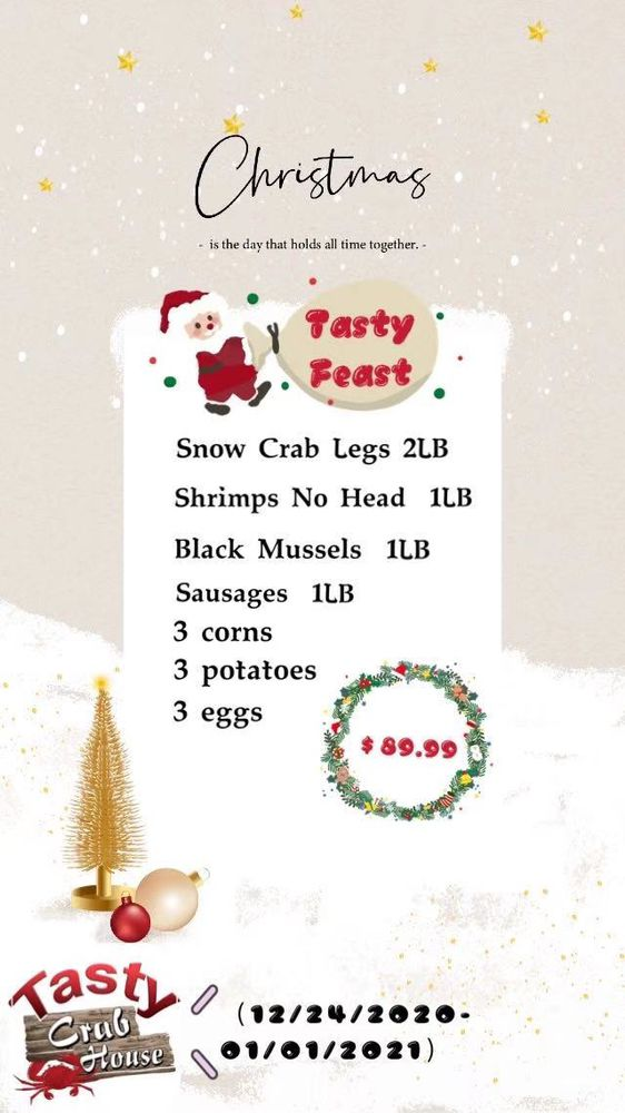 Tasty Crab House: 3999 Austell Rd, Austell, GA
