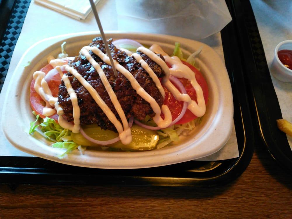 Hamburger Auf Salat Bett Yelp
