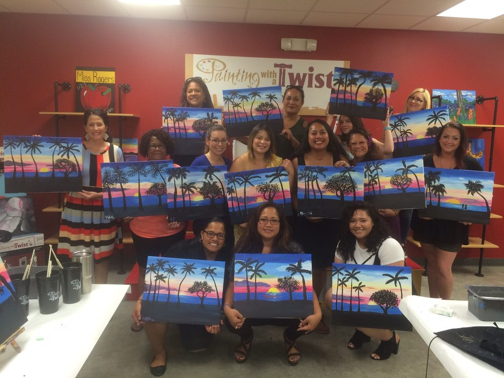 Painting with a Twist: 7348 West Adams Ave., Temple, TX