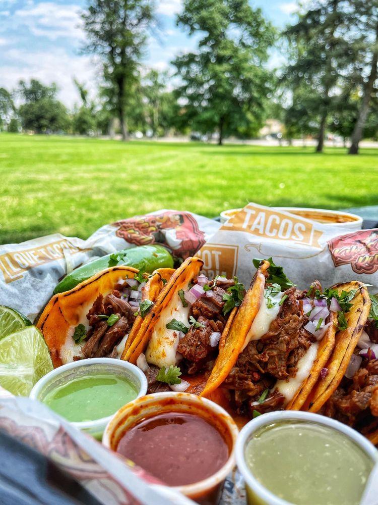 Kiké's Red Tacos: 5226 Federal Blvd, Denver, CO