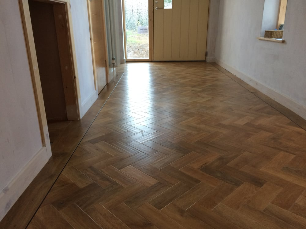 This Is Karndean Parquet Blond Oak Ap01 Laid With A Full Plank