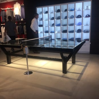 Photo Of TravisMathew   Newport Beach, CA, United States. Glass Ping Pong  Table