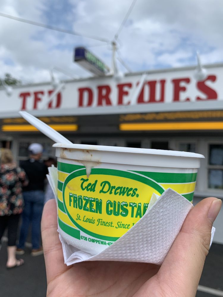 Ted Drewes Custard