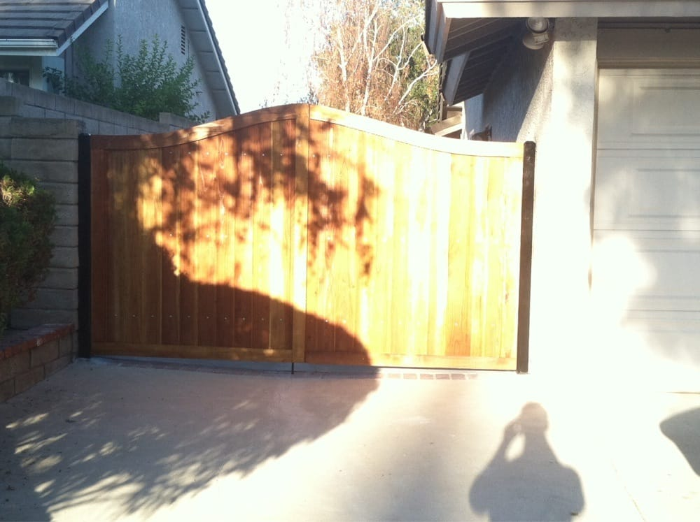Redwood Fence With Reinforced Steel Frame Yelp