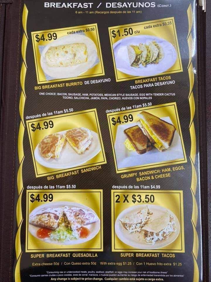 Food from El Tapatio #2