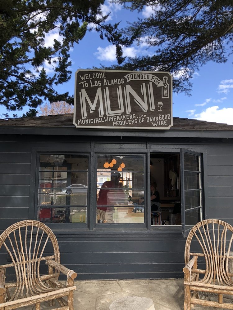 Municipal Winemakers: 423 Bell St, Los Alamos, CA