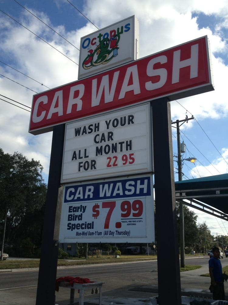 Octopus Car Wash Plant City Plant City Fl