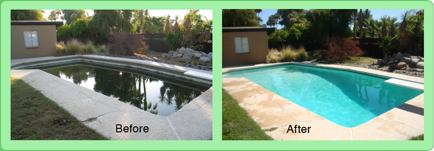 Pool Cleaning Before And After : Metroplex pool cleaning rensning af swimmingpool