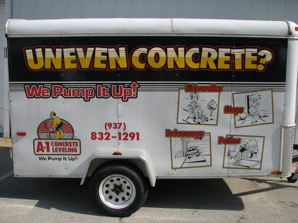 A-1 Concrete Leveling Dayton: 9515 Haber Rd, Clayton, OH