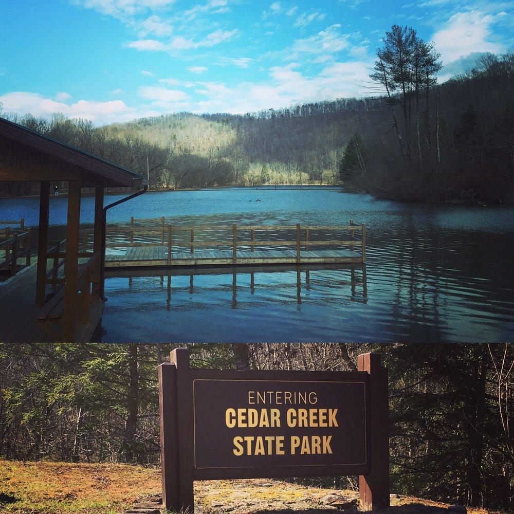 Cedar Creek State Park: Cedar Crk, Glenville, WV