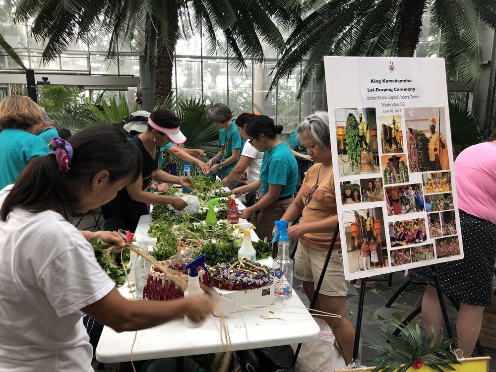 Polynesian Floral Lei Making Class Yelp