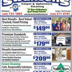 Swansen's Carpet Cleaning - Carpet Cleaning - Bellingham, WA - Phone Number - Yelp
