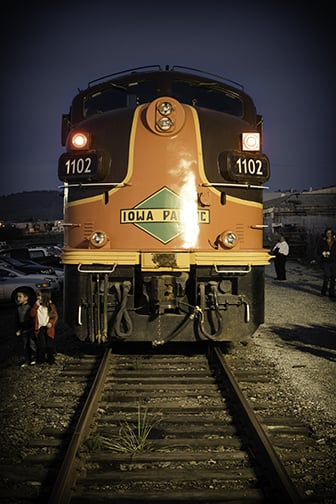 photo of train to christmastown watsonville ca united states iowa pacific train - Train To Christmas Town