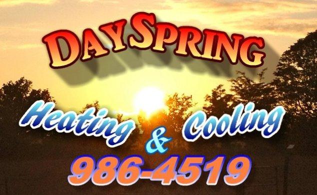 Dayspring Heating & Cooling: 880 Kiser Station Rd, Friendsville, TN