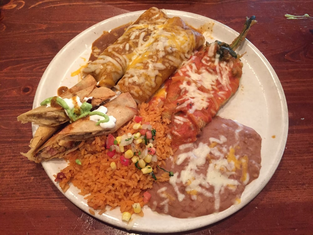 4 item combo yelp for Acapulco loco authentic mexican cuisine