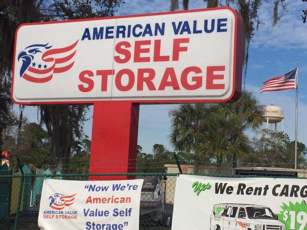 American Value Self Storage: 23227 Freedom Ave, Port Charlotte, FL