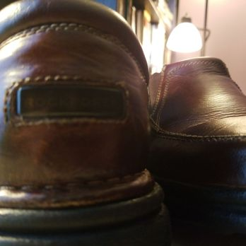 Photo of Fox Shoe Service - Augusta, GA, United States. Sole reattached and