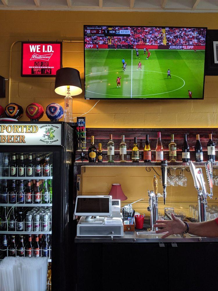 George & Dragon English Tavern: 502 Brevard Ave, Cocoa, FL