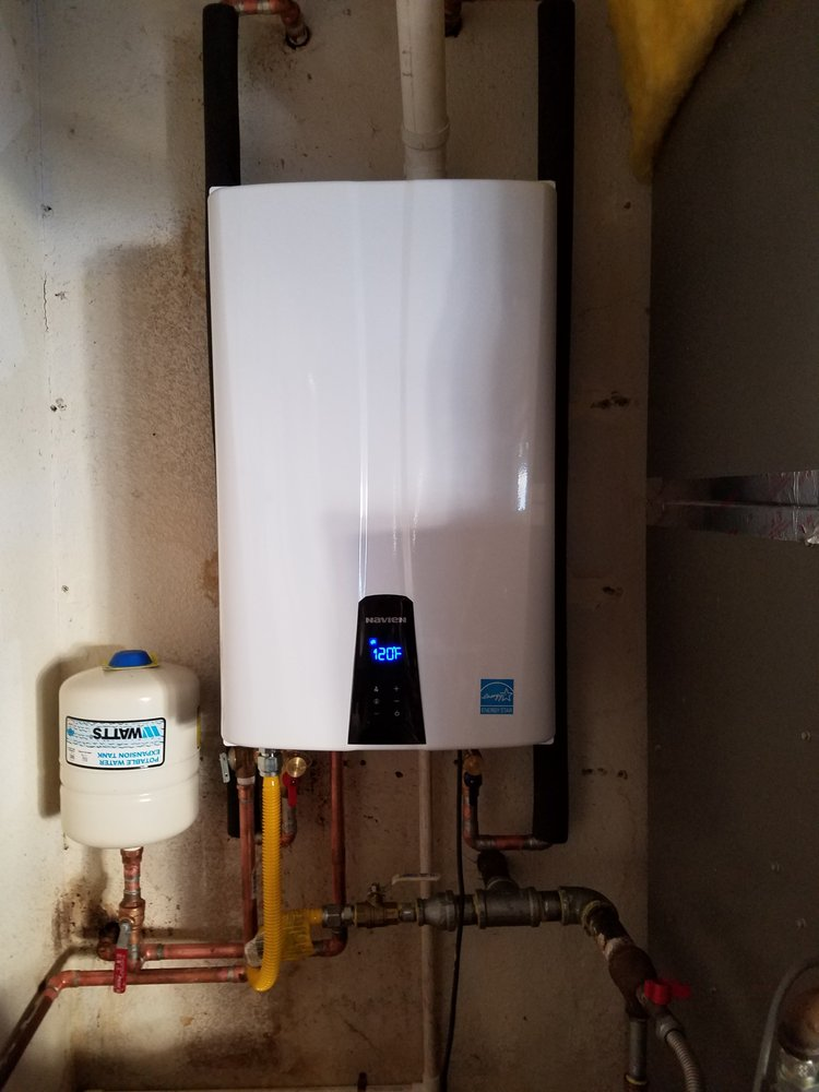 Navien Tankless Water Heater With Built In Circ Pump And