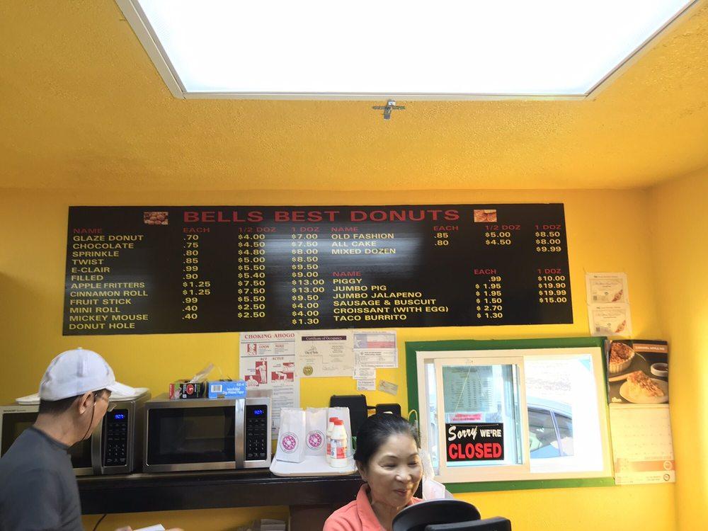Bells Best Donuts: 301 N Pecan St, Bells, TX