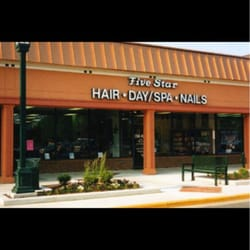 Five star hair nails 39 reviews nail salons 5723 for 5 star salon burke va