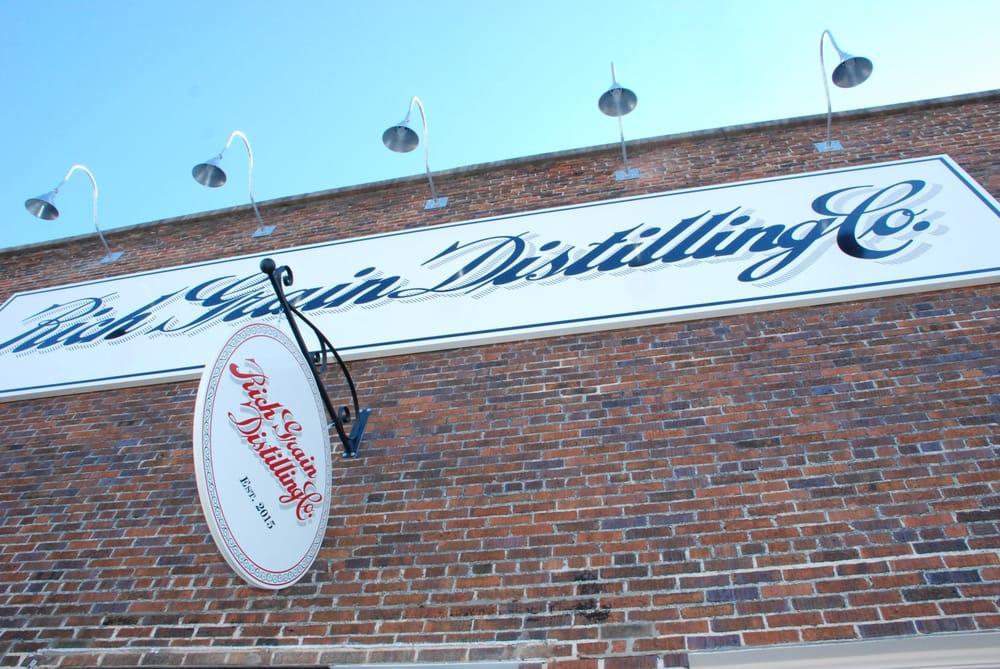 Rich Grain Distilling: 339 W Peace St, Canton, MS
