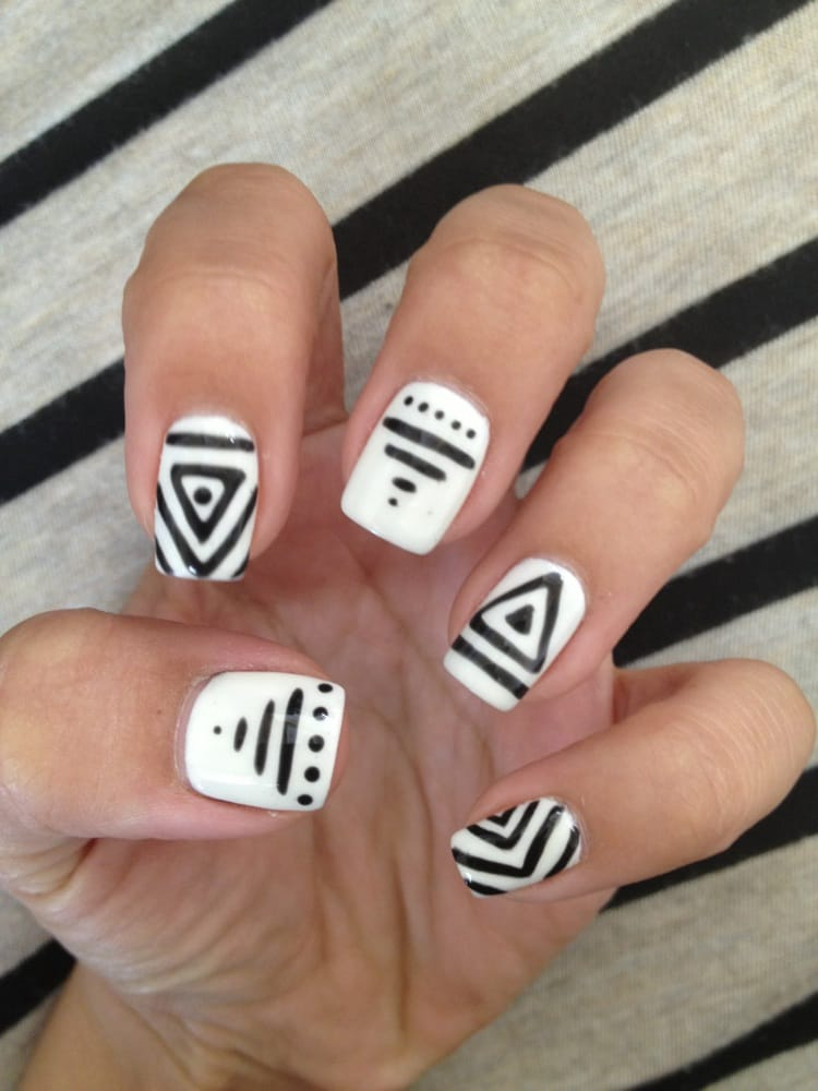 Matching manicurepedicure with some nail art yelp prinsesfo Images