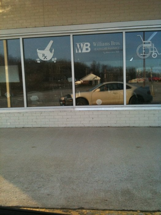 Williams Bros Health Care Pharmacy: 889 N Gospel St, Paoli, IN