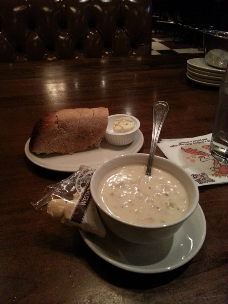 Ne chowder awesome and sourdough bread yelp for King s fish house corona