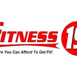 fitness 19 sunnyvale 23 photos 144 reviews gyms 1060 e el rh yelp com fitness 19 logo vector