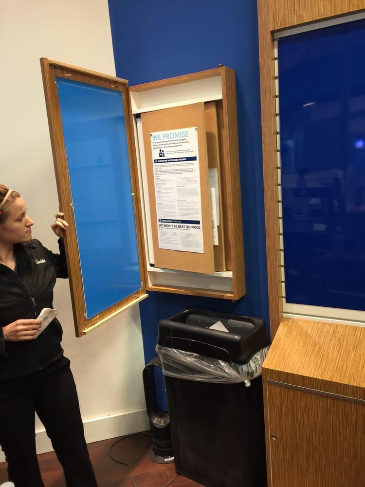 return policy behind the sign door yelp